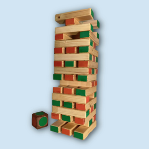 Oudhollands Jenga XL in Kleur
